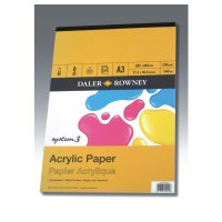 403600300 - System 3 Acrylic Pad A3