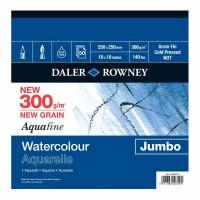 Aquafine Watercolour Jumbo 300gsm 25x25in