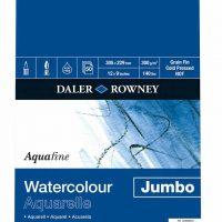 Aquafine Watercolour Jumbo Pad 300gsm 12x9in