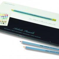 Artists Watercolour Pencils 36 Pencil Tin side shoot