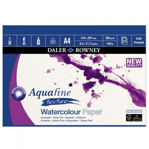 Bloc acuarela 300g Aquafine Daler-Rowney