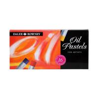 DALER-ROWNEY OIL PASTEL SET 16