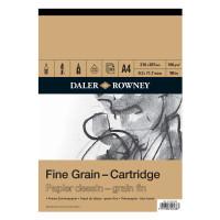 Bloc de desen Fine Grain Cartridge de 30 de coli de dimensiuni A5, A4 si A3, 160 gr,