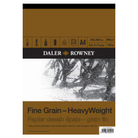 Bloc de desen Fine Grain HeavyWeight, 200 gr , 30 coli A4 si A3