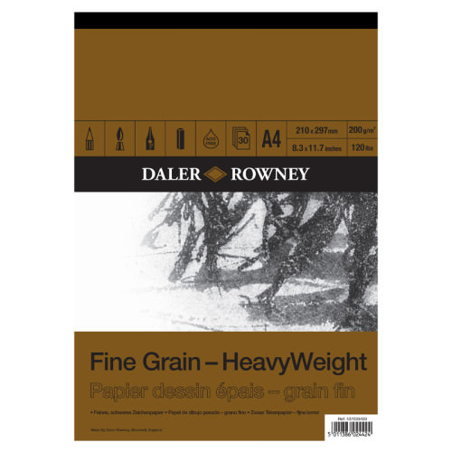 Bloc de desen Fine Grain HeavyWeight A4 si A3