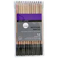 Set 12 creioane schite profesionale Simply