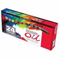 Set culori ulei Graduate 24 x 22 ml