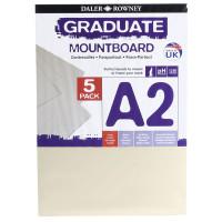 Carton Passpartout A2 culoare Ivory