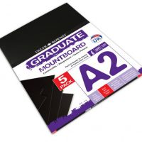 Carton Passpartout A2 Negru