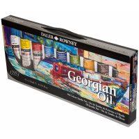 Set culori ulei Georgian 9x120ml Daler-Rowney