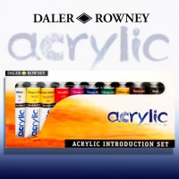 Culori acrilice Graduate Daler-Rowney