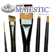 Mini Majestic Royal Brush