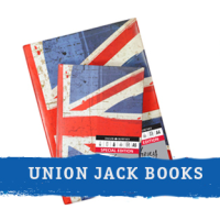 Union Jack sketchbooks