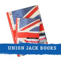 Union Jack sketchbooks
