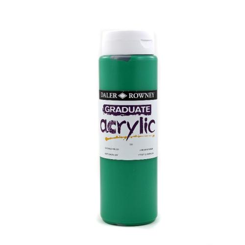 5011386019901 - 123 500 335 - Graduate Acrylic Colour 500ml Emerald Green