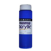 Culori acrilice profesionale 110 - Graduate 500ml Cobalt Blue Hue