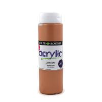 5011386077703 - 123 500 721 - Graduate Acrylic Colour 500ml Metallic Brown