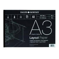 5010000000000 - 403 030 300 - Layout Paper Pad 45gsm A3 - LOW