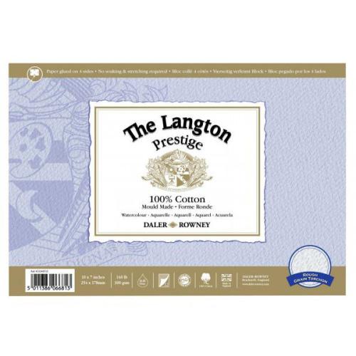 Bloc acuarela The Langton Prestige Rough