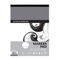 5010000000000 - 435 932 400 - Simply Marker Pad 70gsm A4 - LOW