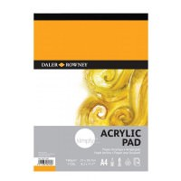 5010000000000 - 436 731 400 - Simply Acrylic Pad 190gsm A4 - LOW