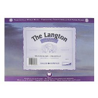 "bloc acuarela The Langton 300 gr rough12x16"""