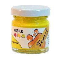 Vopsea-textile,-Akrilo-30-ml,-002-Galben