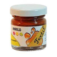 Vopsea-textile,-Akrilo-30-ml,-013-Maro