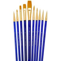 Pensule cu fir sintetic Gold Taklon