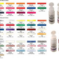 Culori acrilice 59ml Royal Essentials Fluorescent ideale pentru decoratiuni