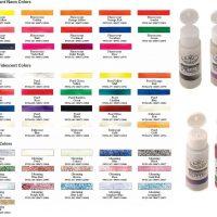 Culori acrilice 59ml Royal Essentials Fluorescent ideale pentru decoratiuni