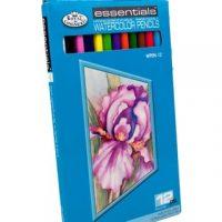 royal-and-langnickel-essentials-watercolor-pencil-set-12-piece