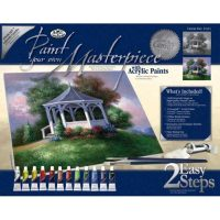 Set-pictura-panza-pe-sasiu,-Royal-Langnickel,-Tablouri-celebre,-07---Lakeside-Gazebo2