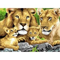 Set-pictura-pe-numere,-Royal-Langnickel,-04---Pride-of-Lions1