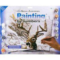 Set-pictura-pe-numere,-Royal-Langnickel,-35---Dancing-Snow-2