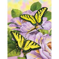 Set-pictura-pe-numere,-Royal-Langnickel,-69-–-Swallowtail-Butterflies