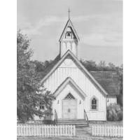 Set de schite pe numere Sketching Set - Chapel