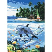 dolphin-island-painting-by-numbers-small-canvas1