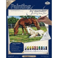 horses-in-field-painting-by-numbers-large-canvas