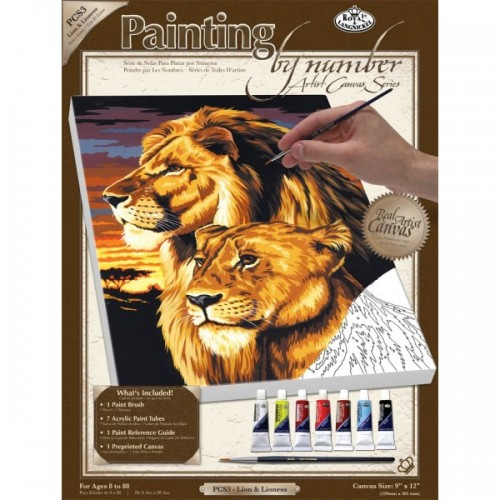 lion-lioness-painting-by-numbers-small-canvas