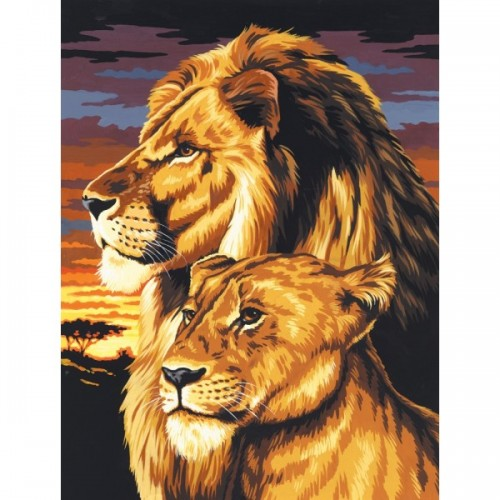 lion-lioness-painting-by-numbers-small-canvas1