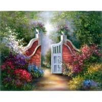 masterpiece-11-x-14-acrylic-garden-gate