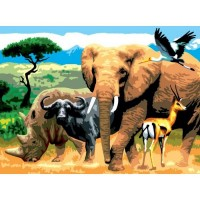 painting-by-number-junior-large-african-animals