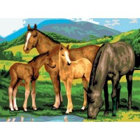 painting-by-number-junior-large-horses-and-foals