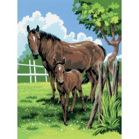 painting-by-number-junior-small-mare-foal