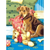 painting-by-number-junior-small-puppy-with-teddybear