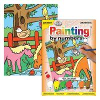 Set-pictura-pe-numere-pentru-copii,-MFP08-Animalele-fermei