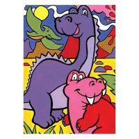Set-pictura-pe-numere-pentru-copii,-MFP11-Dinozauri