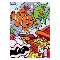 Set-pictura-pe-numere-pentru-copii,-MFP15-Comori-subacvatice