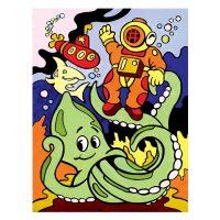 Set-pictura-pe-numere-pentru-copii,-MFP16-Scufundari-subacvatice
